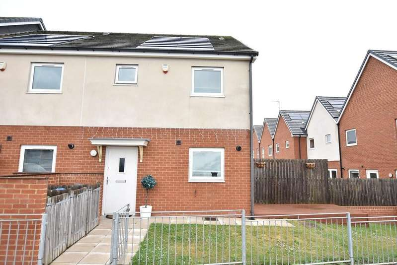 3 Bedrooms End Of Terrace House for sale in Rackly Way, Whitburn