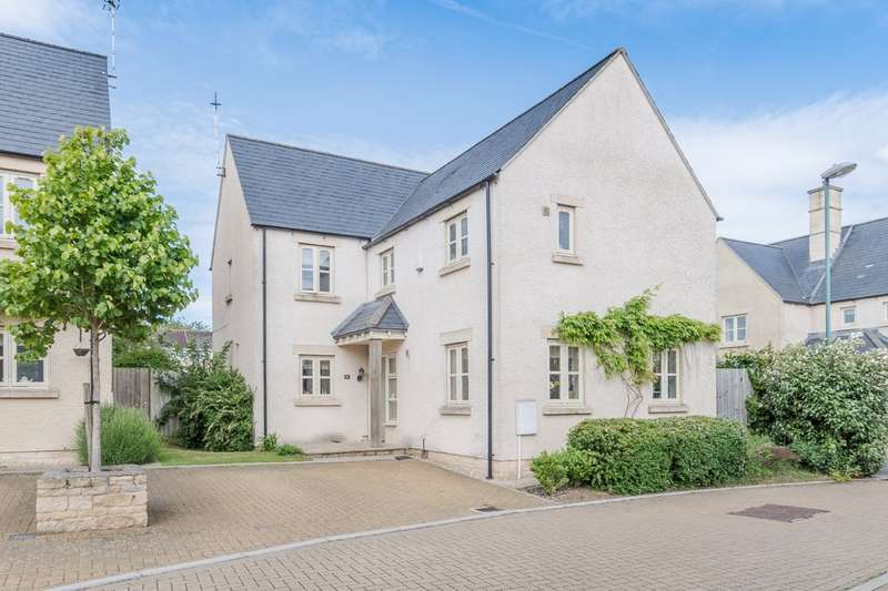4 Bedrooms Detached House for sale in Cornwall Close, Tetbury