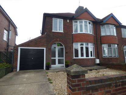 3 Bedrooms Semi Detached House for sale in Thoresby Avenue, Kirkby-In-Ashfield, Nottinghamshire