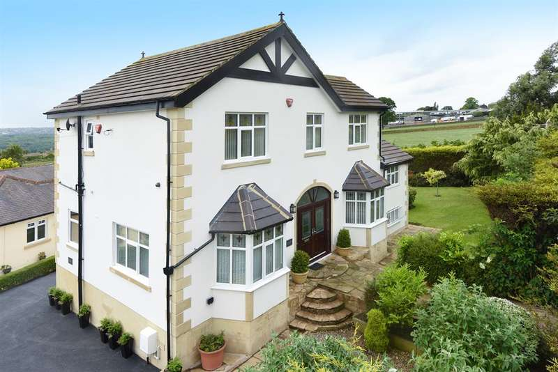 5 Bedrooms Detached House for sale in Southlands,Leeds Road, Rawdon, Leeds, LS19 6JG