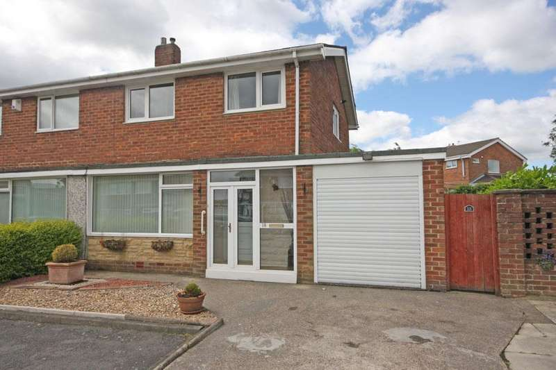 3 Bedrooms Semi Detached House for sale in Hilda Park, Chester le Street, DH2 2JP