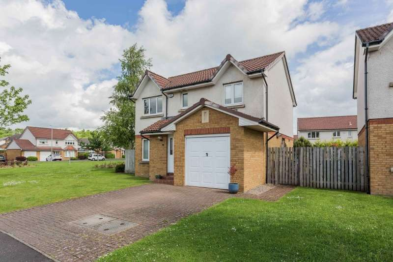 4 Bedrooms Detached House for sale in Hazelwood Grove, Drumpellier Lawns, Bargeddie, Glasgow, G69 7TA