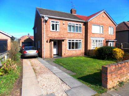 3 Bedrooms Semi Detached House for sale in The Crescent, Ormesby, Middlesbrough, North Yorkshire
