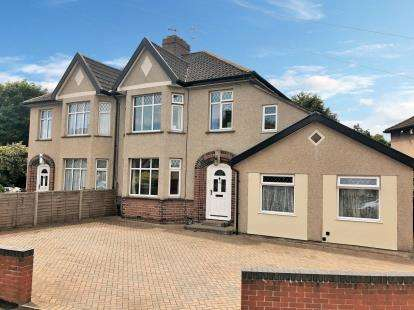 5 Bedrooms Semi Detached House for sale in Kenmore Grove, Bristol, Somerset