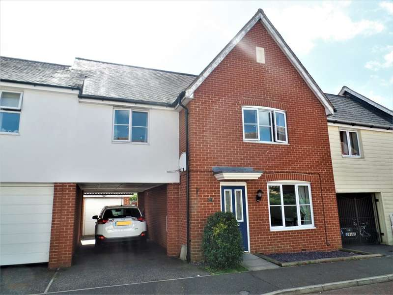 4 Bedrooms Semi Detached House for sale in Septimus Drive