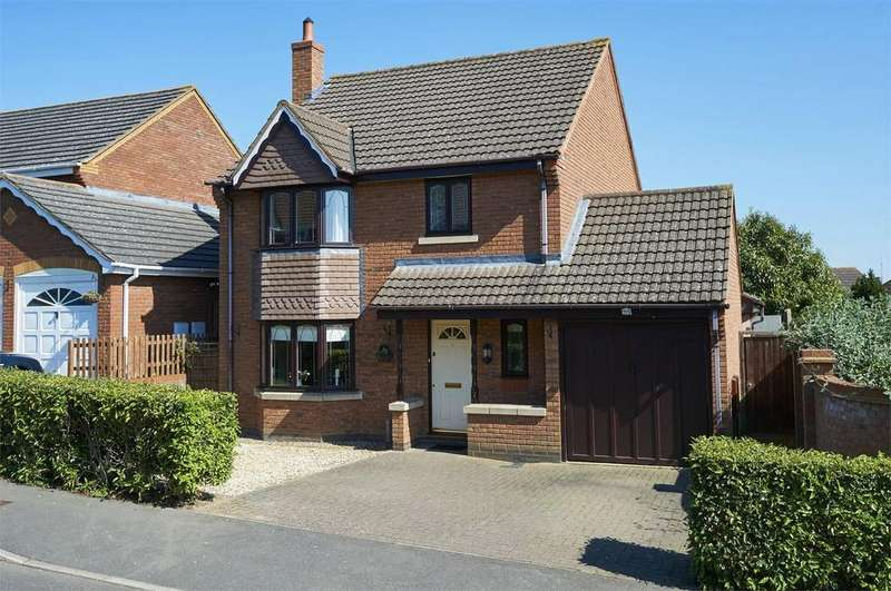 4 Bedrooms Detached House for sale in Tymecrosse Gardens, Market Harborough, Leicestershire