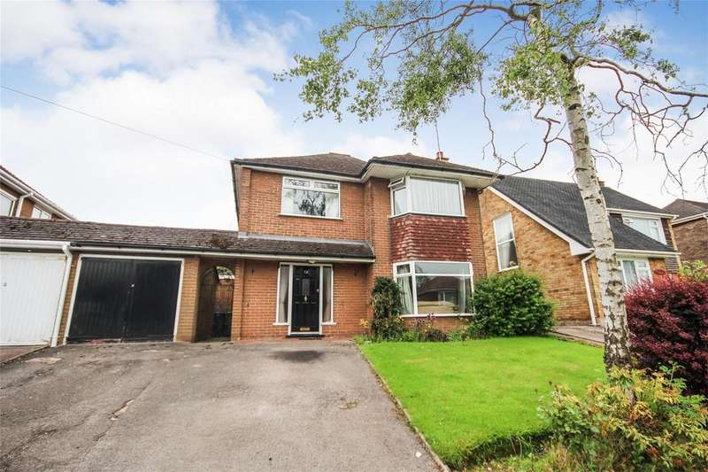 4 Bedrooms Detached House for sale in Sutherland Crescent, Blythe Bridge, Staffordshire