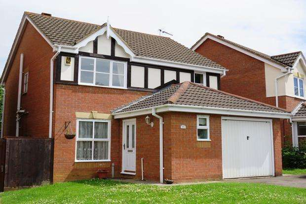 3 Bedrooms Detached House for sale in Leah Bank, Sandringham Gardens, Northampton, NN4