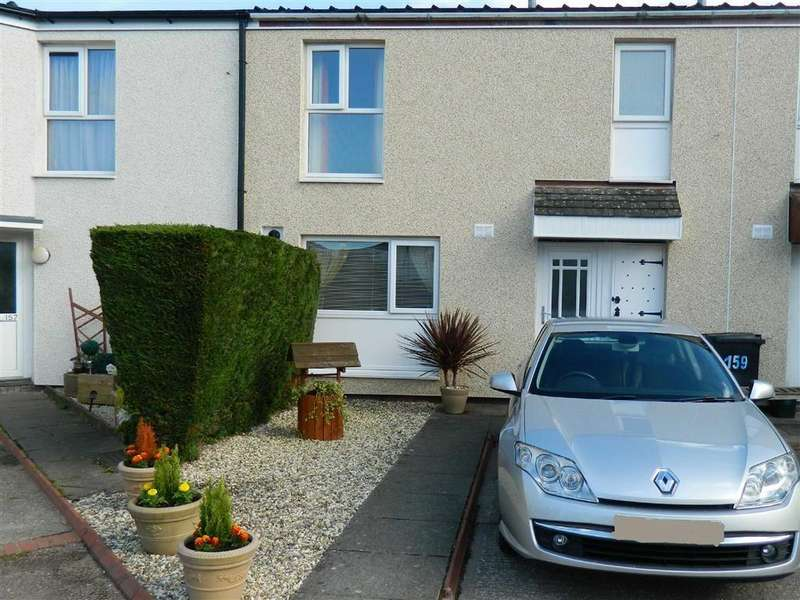 3 Bedrooms Terraced House for sale in Lon Pantyllyn, Newtown
