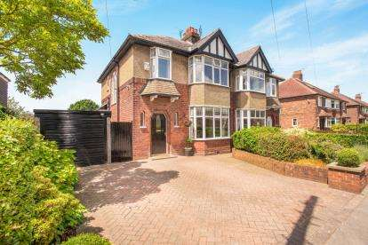 3 Bedrooms Semi Detached House for sale in Fulwood Hall Lane, Fulwood, Preston, Lancashire, PR2