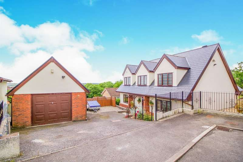 5 Bedrooms Detached House for sale in The Woodlands, Brackla, Bridgend