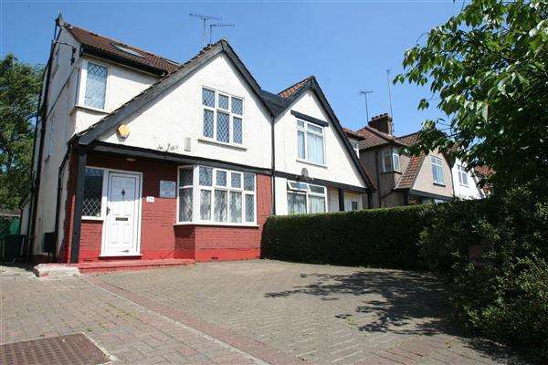 4 Bedrooms Semi Detached House for sale in Great North Way, NW4, Hendon