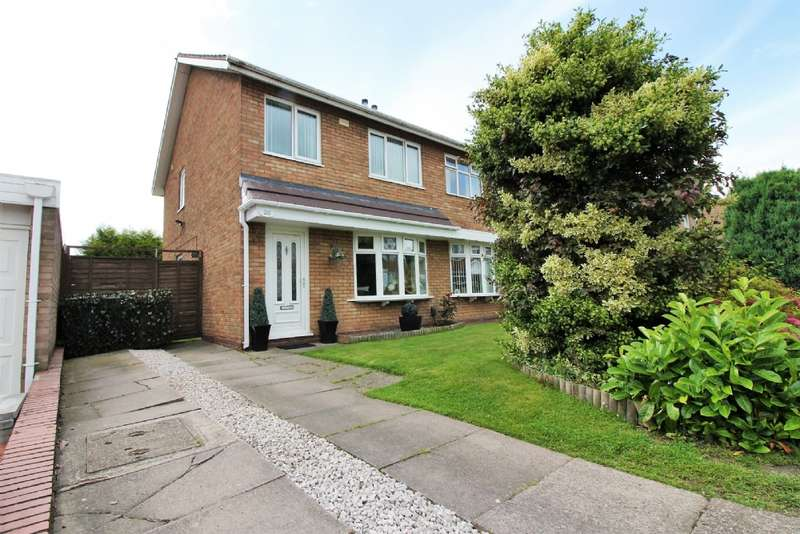 3 Bedrooms Semi Detached House for sale in Culmore Close, Willenhall