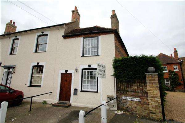 2 Bedrooms End Of Terrace House for sale in High Street, Stanwell Village