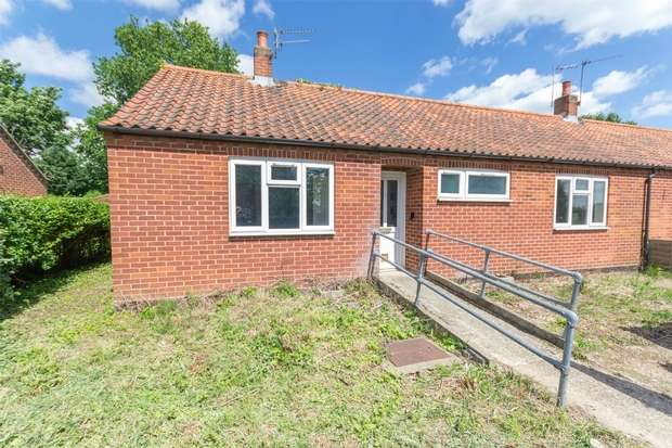 2 Bedrooms Semi Detached Bungalow for sale in 8 Church Lane, Hindolveston