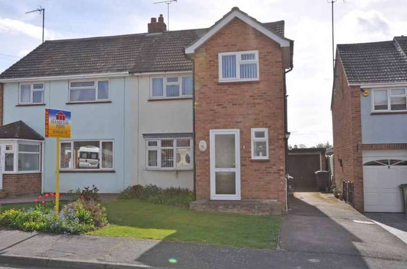 3 Bedrooms Semi Detached House for sale in Dorewards Avenue, Bocking, Braintree, CM7