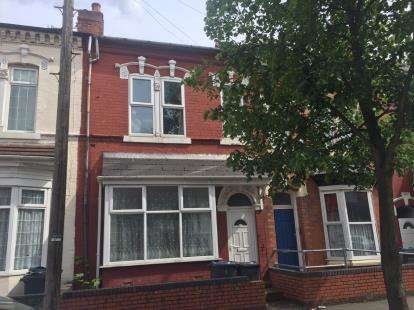 4 Bedrooms Terraced House for sale in Kingsley Road, Balsall Heath, Birmingham, West Midlands