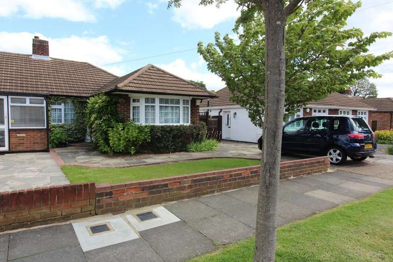 2 Bedrooms Semi Detached Bungalow for sale in Oregon Square, Orpington, Kent, BR6 8BE