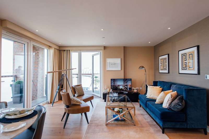 2 Bedrooms Flat for sale in Royal Arsenal Riverside, Woolwich, SE18