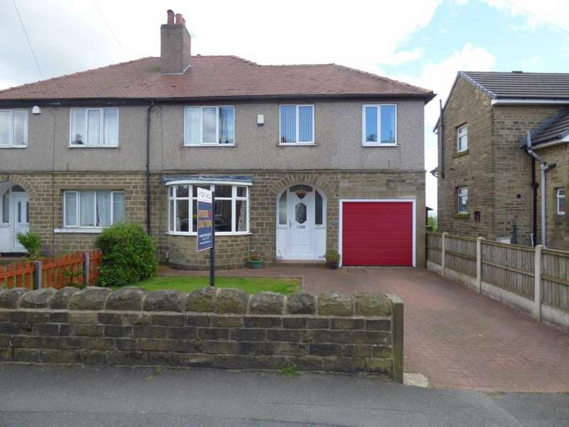4 Bedrooms Semi Detached House for sale in Raw Nook Road, Salendine Nook, Huddersfield, West Yorkshire, HD3
