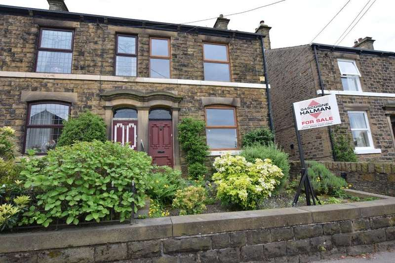 3 Bedrooms Semi Detached House for sale in Glen View, Hayfield Road, Birch Vale