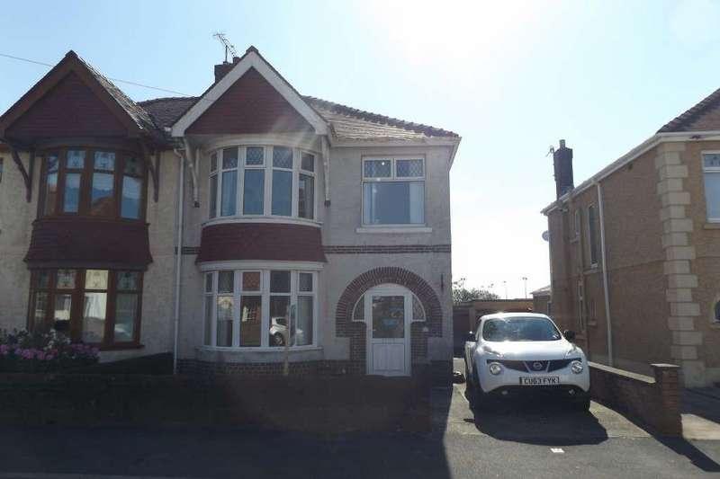 3 Bedrooms Semi Detached House for sale in Denham Avenue, Llanelli, Llanelli