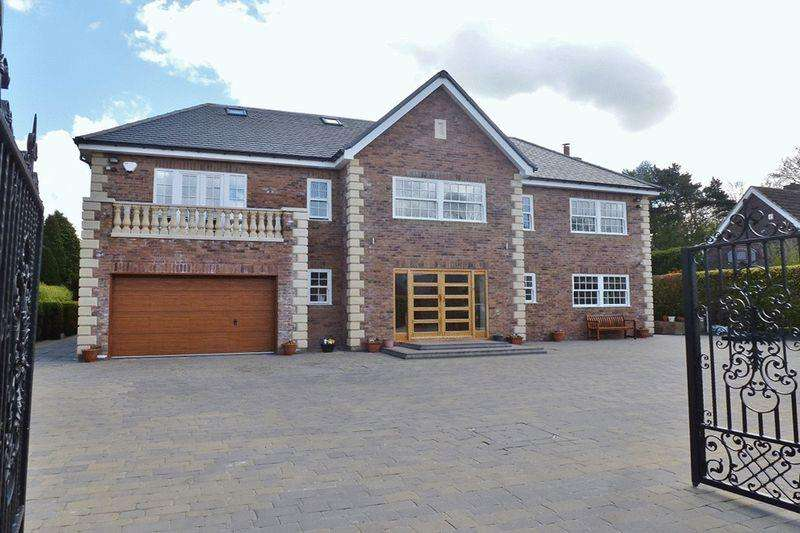 5 Bedrooms Detached House for sale in Edge Hill, Darras Hall