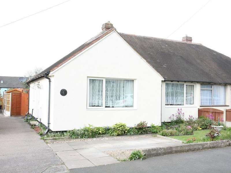 2 Bedrooms Semi Detached Bungalow for sale in 4 Rutland Road, Heath Hayes, WS12 2EQ