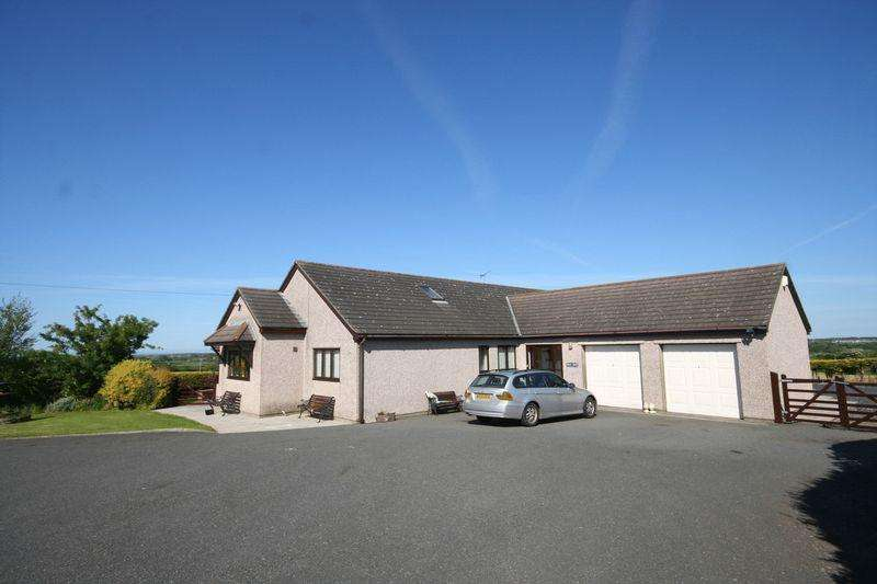 4 Bedrooms Detached House for sale in Bodorgan, Anglesey