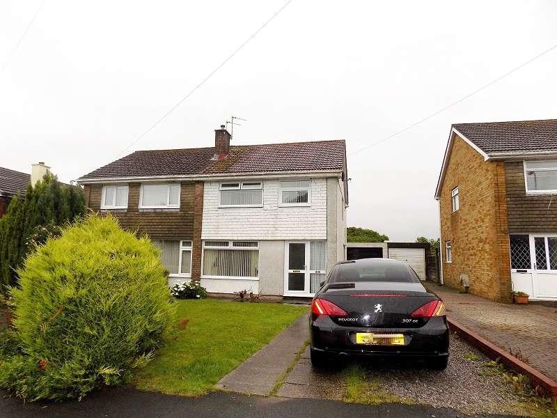 3 Bedrooms Semi Detached House for sale in Kensington Drive, Cefn Glas, Bridgend. CF31 4QS