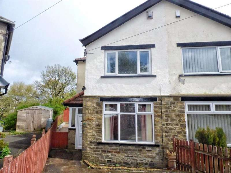 3 Bedrooms Semi Detached House for sale in Mount Avenue, Norton Tower, HALIFAX, West Yorkshire, HX2
