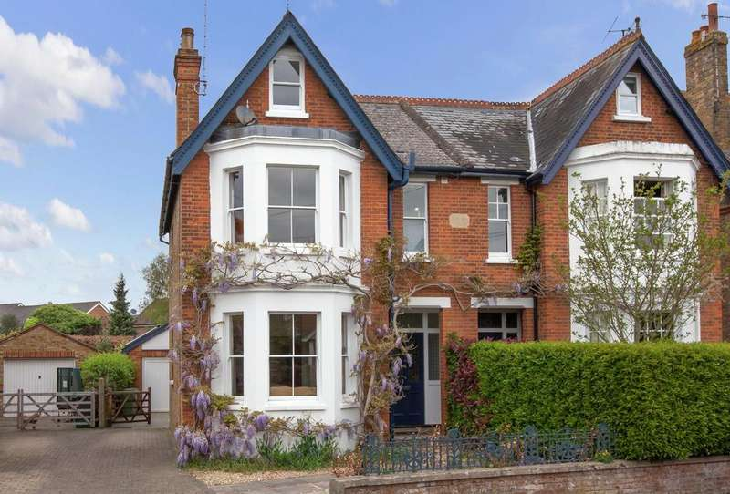 5 Bedrooms Semi Detached House for sale in Wharf Lane, Bourne End