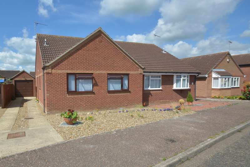 2 Bedrooms Semi Detached Bungalow for sale in St Marys Close, Harleston