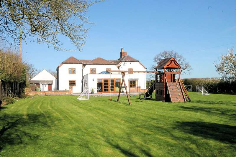 5 Bedrooms Detached House for sale in The Shooting Box, Chilcote, Nr Tamworth, DE12 8DH