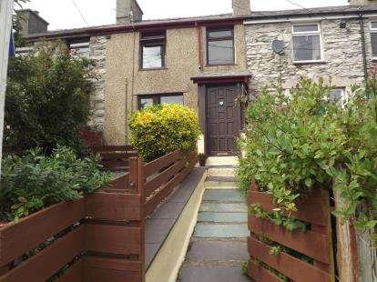 2 Bedrooms Terraced House for sale in Bryn Derwen Terrace, Talysarn, Caernarfon, Gwynedd, LL54