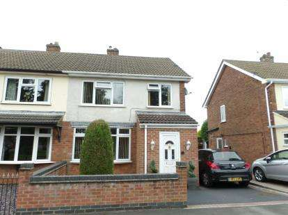 3 Bedrooms Semi Detached House for sale in Mickleden Green, Whitwick, Coalville