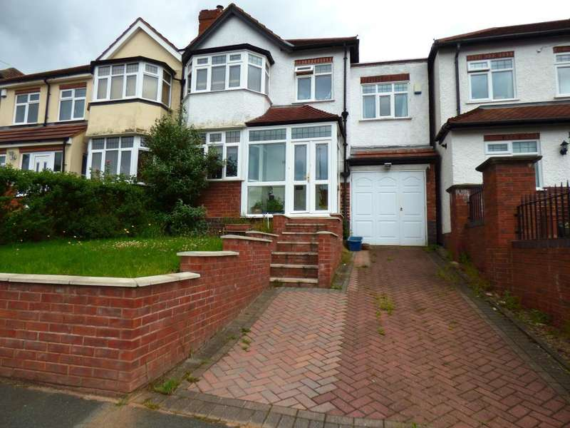 4 Bedrooms Semi Detached House for sale in Weymoor Road, Harborne, Birmingham, B17 0RT