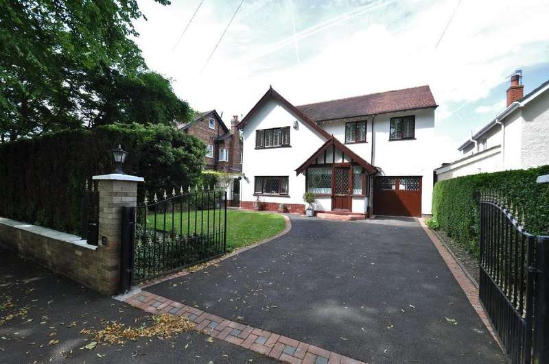 4 Bedrooms Detached House for sale in Lynton Park Road, Cheadle Hulme,