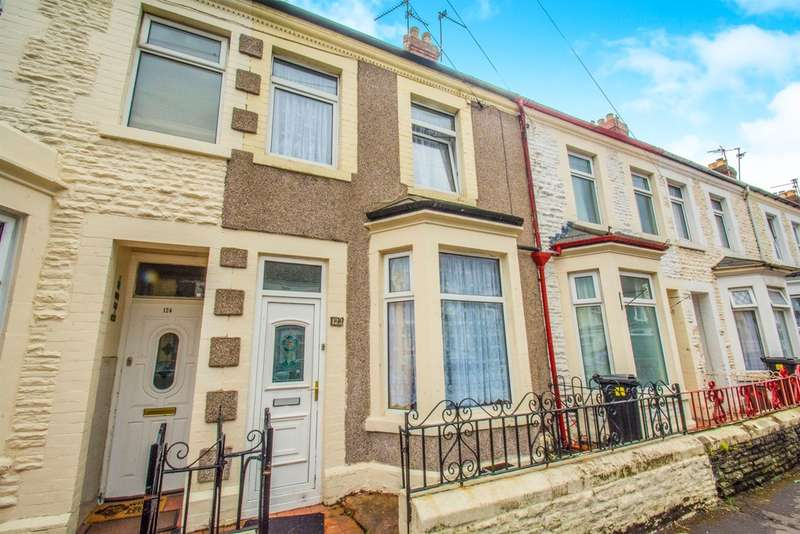 2 Bedrooms Terraced House for sale in Glenroy Street, Cardiff