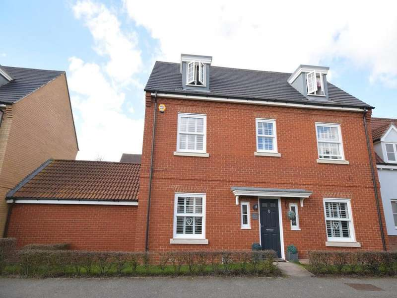 5 Bedrooms Link Detached House for sale in Canon Road, Flitch Green, Dunmow, Essex, CM6