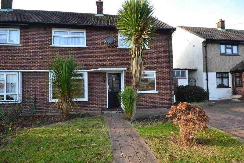 3 Bedrooms Semi Detached House for sale in Waycross Road, Cranham, Upminster, Essex, RM14