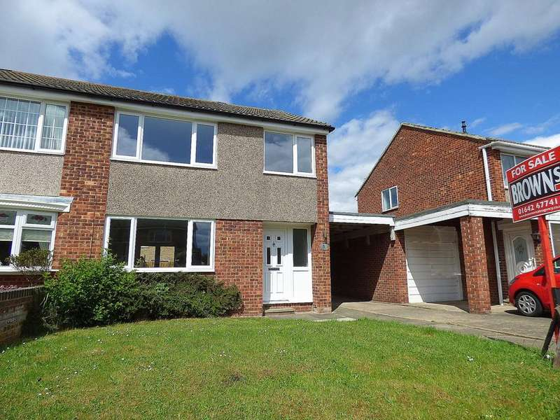 3 Bedrooms Semi Detached House for sale in Monreith Avenue, Eaglescliffe, Stockton-On-Tees, TS16