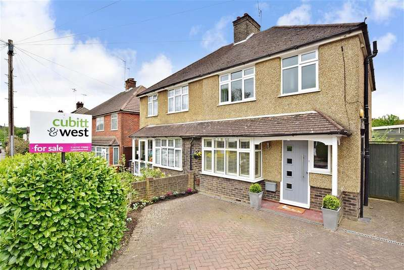 3 Bedrooms Semi Detached House for sale in The Crossways, Merstham, Surrey