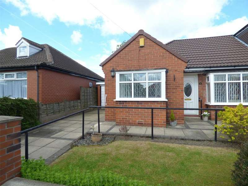 2 Bedrooms Semi Detached Bungalow for sale in Alan Avenue, Failsworth, Manchester, Greater Manchester, M35