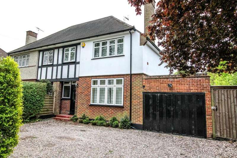 3 Bedrooms Semi Detached House for sale in Ingrave Road, Brentwood, Essex, CM13