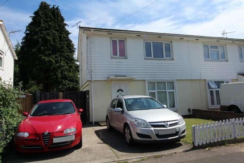 3 Bedrooms Semi Detached House for sale in Alamein Road, Chelmsford, Essex, CM1