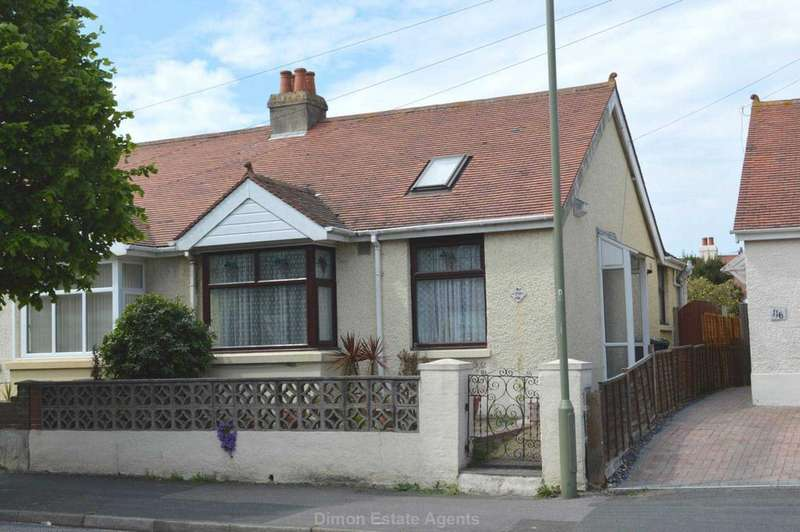 2 Bedrooms Semi Detached Bungalow for sale in Anns Hill Road, Gosport