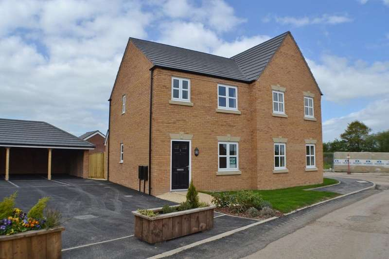 3 Bedrooms Semi Detached House for sale in Whatcroft Way, Middlewich