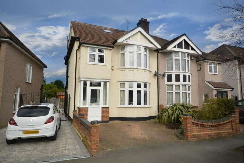 4 Bedrooms Semi Detached House for sale in Fairkytes Avenue, Hornchurch, Essex, RM11