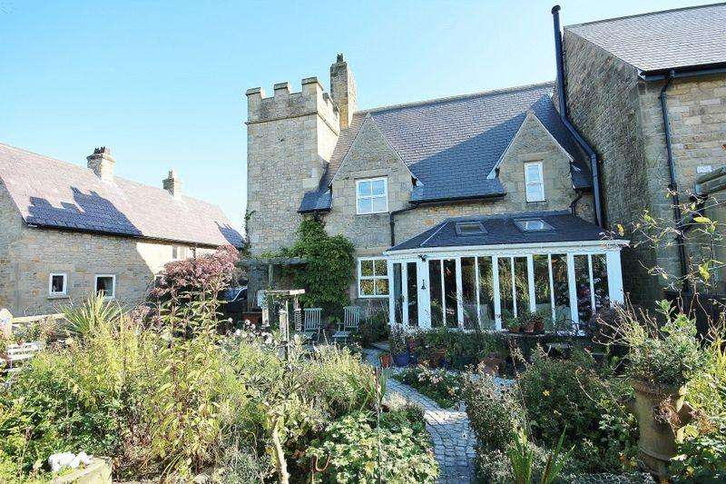 3 Bedrooms Semi Detached House for sale in Eastfield Hall, Eastfield, Nr Warkworth, Morpeth